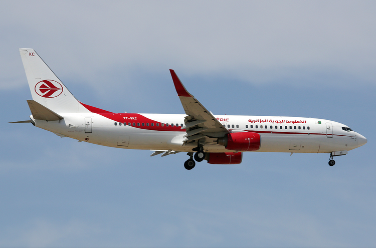 самолет Air Algerie